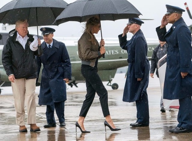 First Lady Melania Trump Public Speaking Appearance